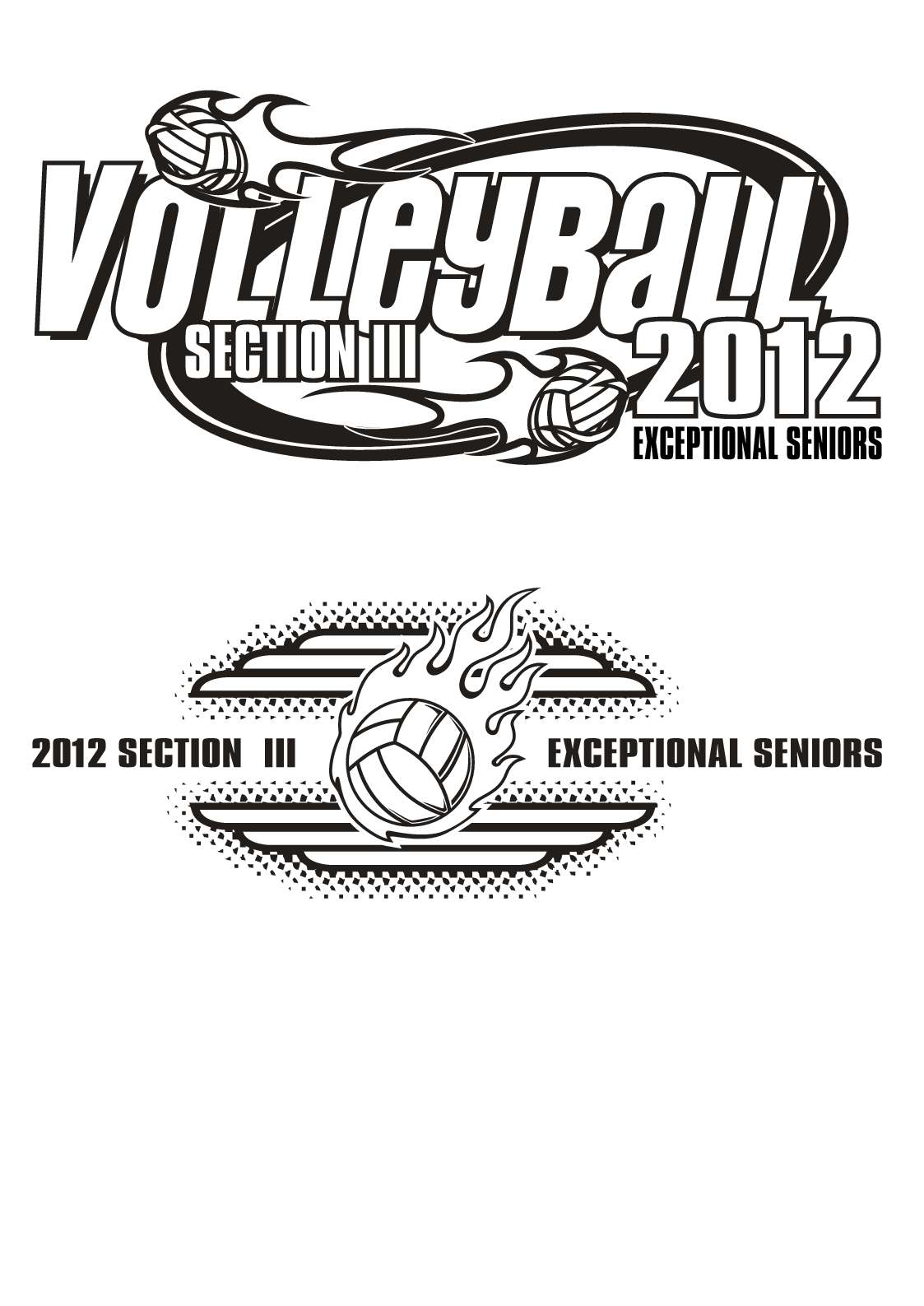 Exceptional Seniors Volleyball