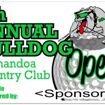 Westmoreland BullDog Open 9th Sponsor Flags